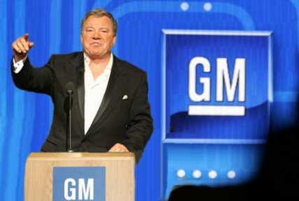 Shatner is new GM boss