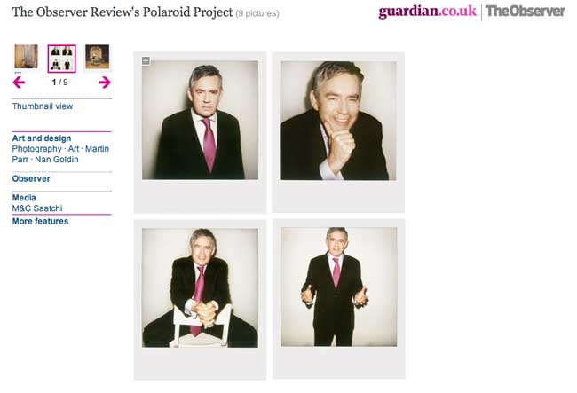 Gordon Brown by Rankin