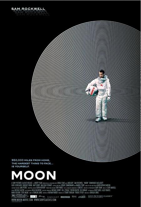Moon poster Sam Rockwell