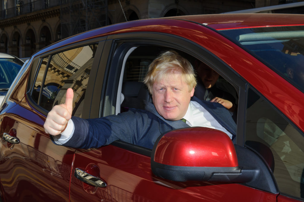Boris Johnson car